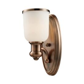 Landmark Lighting 66180-1 Brooksdale - One Light Wall Sconce