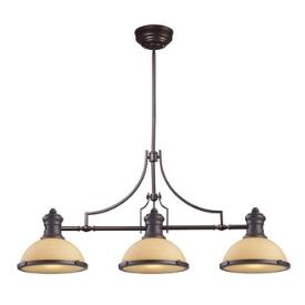 Landmark Lighting 66235-3 Chadwick - Three Light Island