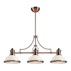Landmark Lighting 66245-3 Chadwick - Three Light Island