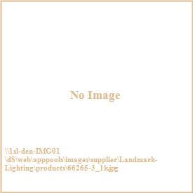 Landmark Lighting 66265-3 Cog and Chain - Three Light Pendant