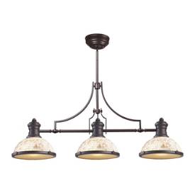 Landmark Lighting 66435-3 Chadwick - Three Light Island