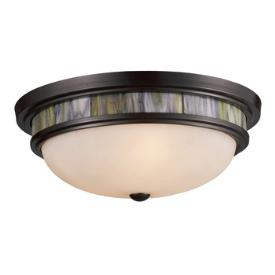 Landmark Lighting 70016-3 Three Light Flush Mount