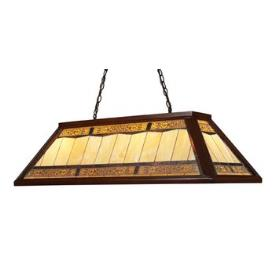 Landmark Lighting 70112-4 Tiffany Game Room Lighting 4 - Light Chandelier