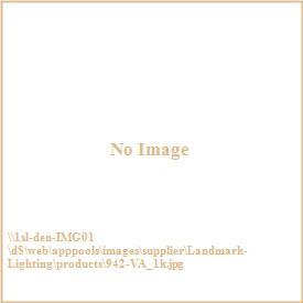 Landmark Lighting 942-VA Tiffany Buckingham - Three Light Semi-Flush Mount