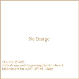 Landmark Lighting 997-AW-01 Mix-N-Match - Three Light Semi-Flush Mount