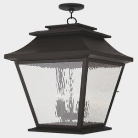 Livex Lighting 20247 Hathaway - Five Light Outdoor Hanging Lantern