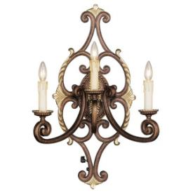 Livex Lighting 8863-64 Seville - Three Light Wall Sconce