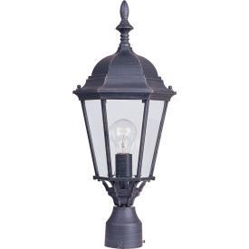 Maxim Lighting 1005RP Westlake - One Light Outdoor Pole/Post Lantern