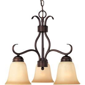 Maxim Lighting 10122WSOI Basix - Three Light Chandelier