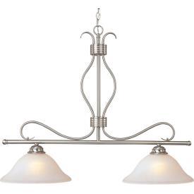 Maxim Lighting 10126ICSN Basix - Two Light Island Pendant