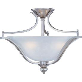 Maxim Lighting 10171ICSS Madera - Three Light Semi-Flush Mount
