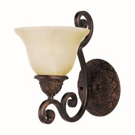 Maxim Lighting 11246SVOI Symphony - One Light Wall Sconce