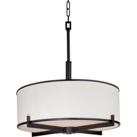 Maxim Lighting 12053WTOI Nexus - Four Light Foyer Pendant