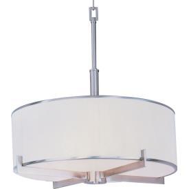 Maxim Lighting 12053WTSN Nexus - Four Light Entry Foyer Pendant