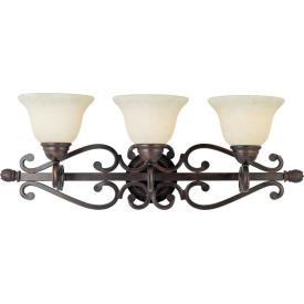 Maxim Lighting 12213FIOI Manor - Three Light Bath Vanity