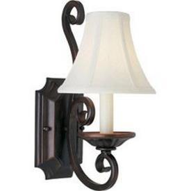 Maxim Lighting 12217OI/SHD123 Manor - One Light Wall Sconce
