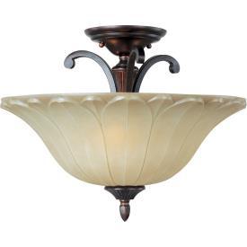 Maxim Lighting 13501WSOI Allentown - Three Light Semi-Flush Mount