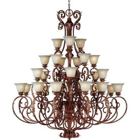 Maxim Lighting 13569 Augusta - Twenty-Seven Light 4-Tier Chandelier