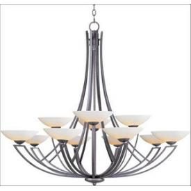 Maxim Lighting 13607SWBT Ashford - Twelve Light Chandelier