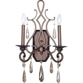 Maxim Lighting 14309HR Chic - Two Light Wall Sconce