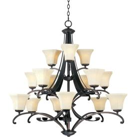 Maxim Lighting 21067 Oak Harbor - Fifteen Light 3-Tier Chandelier