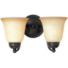 Maxim Lighting 2121 Basix 2 Light Vanity