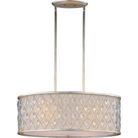 Maxim Lighting 21456OFGS Diamond - Four Light Pendant