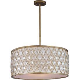 Maxim Lighting 21457OFGS Diamond - Four Light Pendant