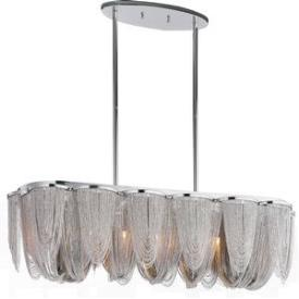 Maxim Lighting 21463NKPN Chantilly - Seven Light Pendant
