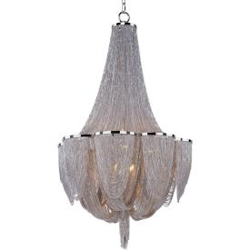 Maxim Lighting 21465NKPN Chantilly - Ten Light Chandelier
