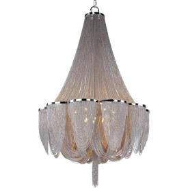 Maxim Lighting 21467NKPN Chantilly - Fourteen Light Chandelier