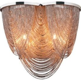 Maxim Lighting 21469NKPN Chantilly - Twelve Light Flush Mount