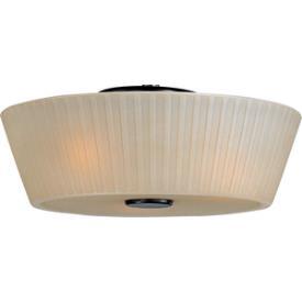 Maxim Lighting 21500 Finesse - Three Light Flush Mount
