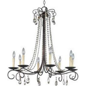 Maxim Lighting 22197UR Adriana - Eight Light Chandelier