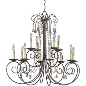 Maxim Lighting 22209UR Adriana - Twelve Light Chandelier