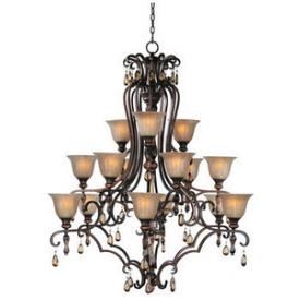 Maxim Lighting 22268EMFL Dresden 15-light Chandelier