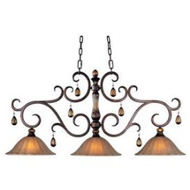 Maxim Lighting 22269EMFL Dresden 3-light Island Pendant