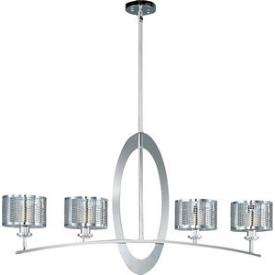 Maxim Lighting 22307PN Mirage - Four Light Adjustable Pendant