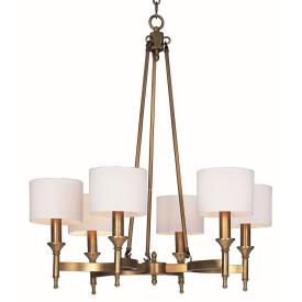 Maxim Lighting 22375OMNAB Fairmont - Six Light Chandelier