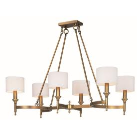 Maxim Lighting 22376OMNAB Fairmont - Six Light Chandelier
