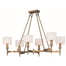Maxim Lighting 22376OMNAB Fairmont - Six Light Chandelier