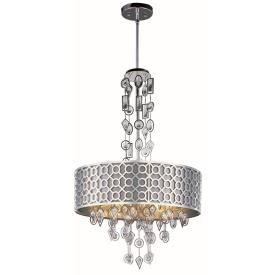 Maxim Lighting 22385STPN Symmetry - Eight Light Pendant