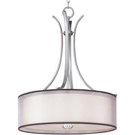 Maxim Lighting 23033SWSN Orion - Four Light Pendant