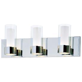 Maxim Lighting 23073CLFTPC Silo - Three Light Bath Vanity