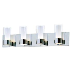 Maxim Lighting 23074CLFTPC Silo - Four Light Bath Vanity