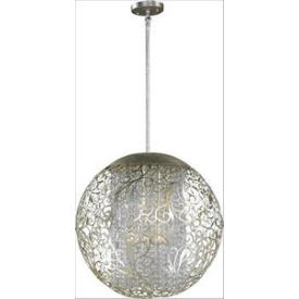 Maxim Lighting 24156BCGS Arabesque - Nine Light Pendant