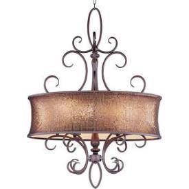 Maxim Lighting 24165SBUB Alexander - Six Light Pendant
