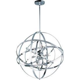 Maxim Lighting 25133PC Sputnik - Nine Light Pendant