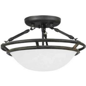 Maxim Lighting 2670 3 Light Semi Flush