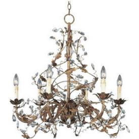 Maxim Lighting 2851 6 Light Chandelier